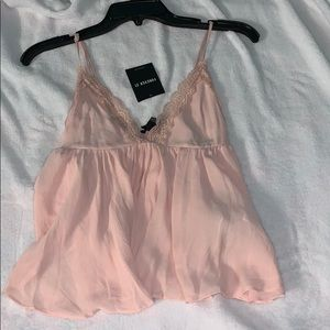 Forever 21 baby pink tank top